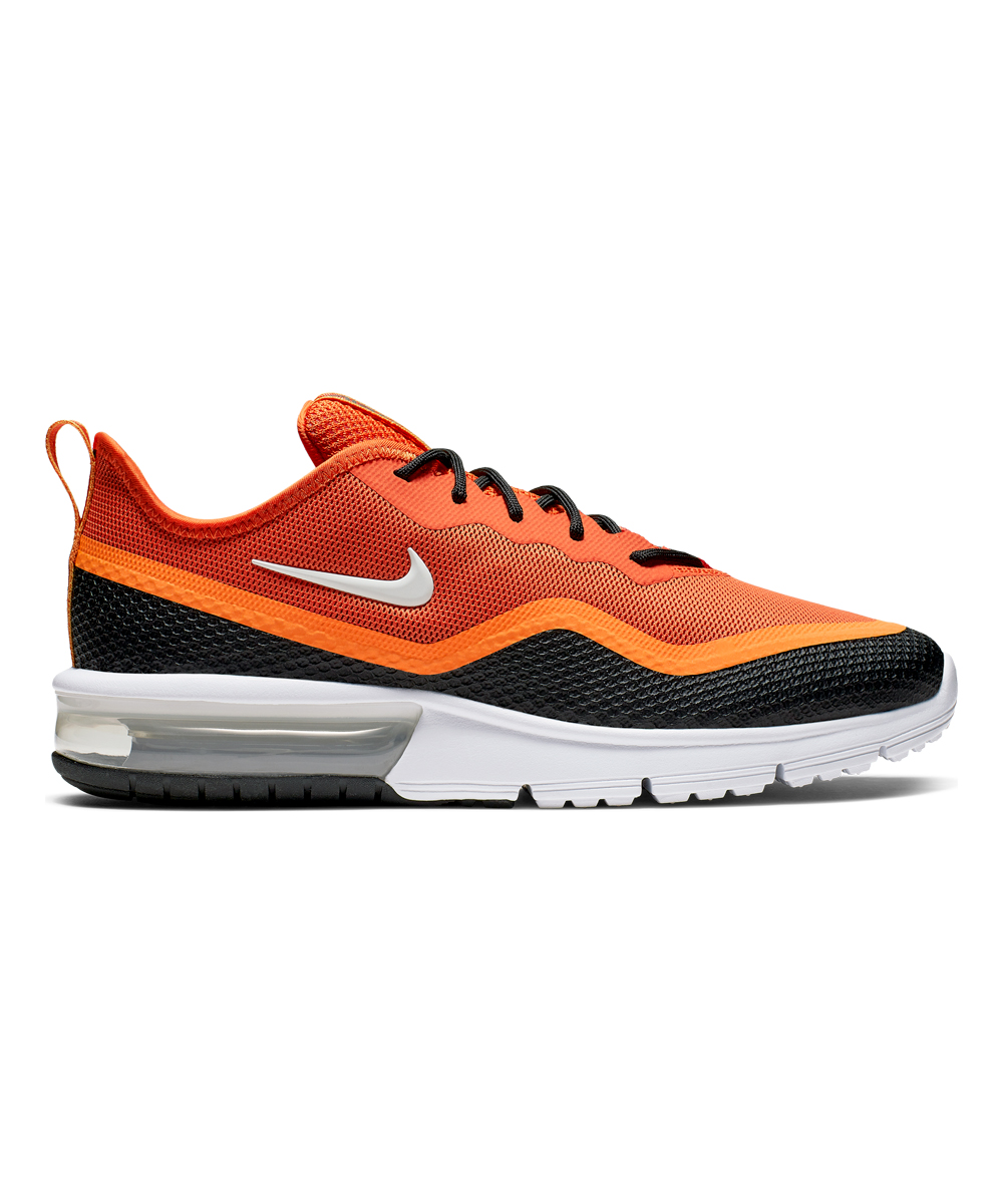Nike Men's Running Shoes Starfish/White - Starfish & Black Kumquat Air Max Sequent 4.5 Running shoe - Men