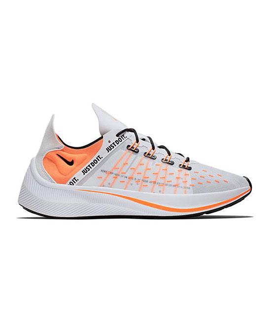 Nike Men's Running Shoes White/Total - White & Total Orange EXP-X14 SE Running Shoe - Men