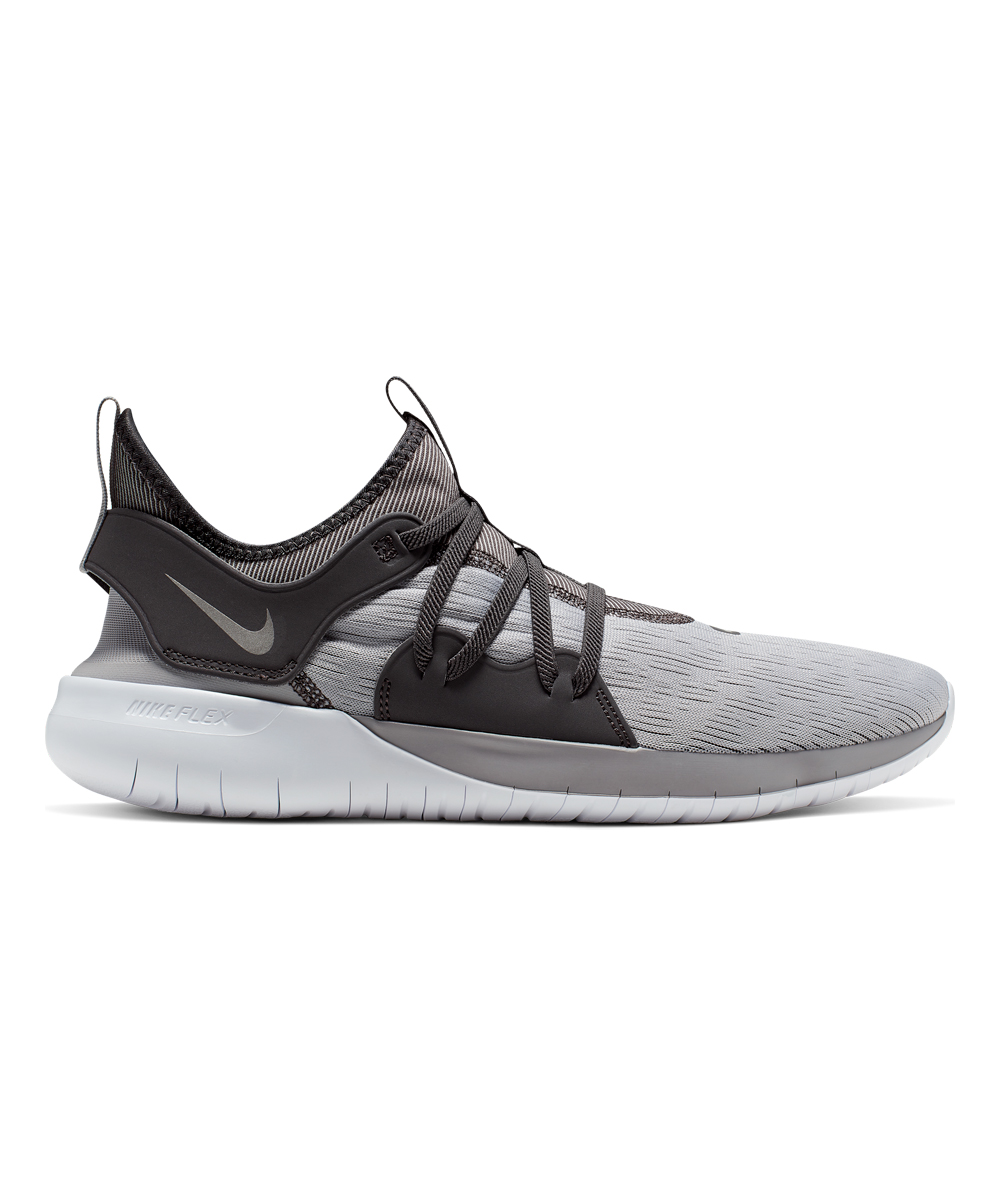 Nike Men's Running Shoes Atmosphere - Atmosphere Gray & Metallic Pewter Flex Contact 3 Running Shoe - Men