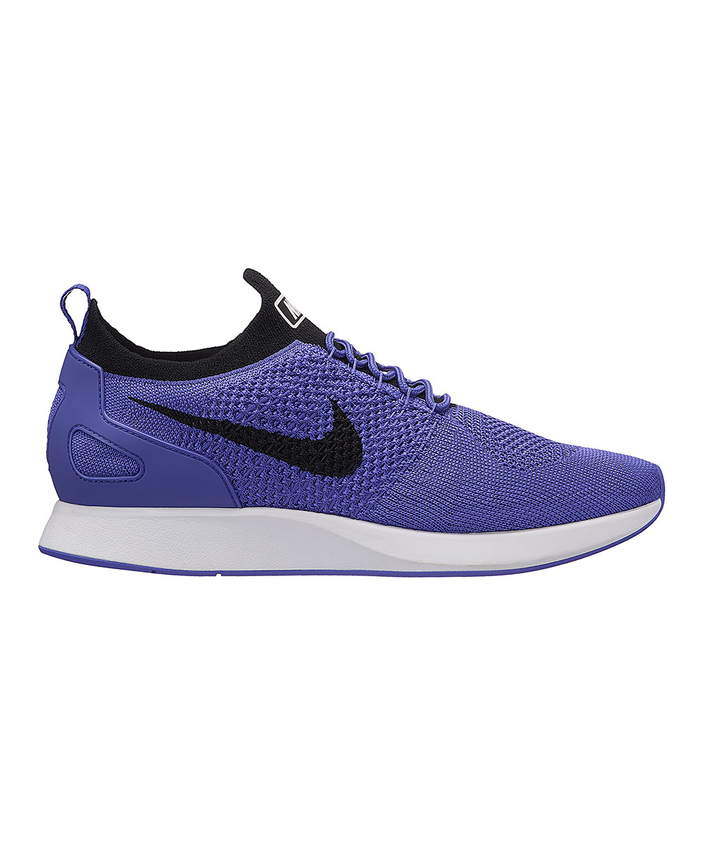 Nike Men's Running Shoes Persian - Persian Violet & White Zoom Mariah Flyknit Racer '18 Running Shoe - Men