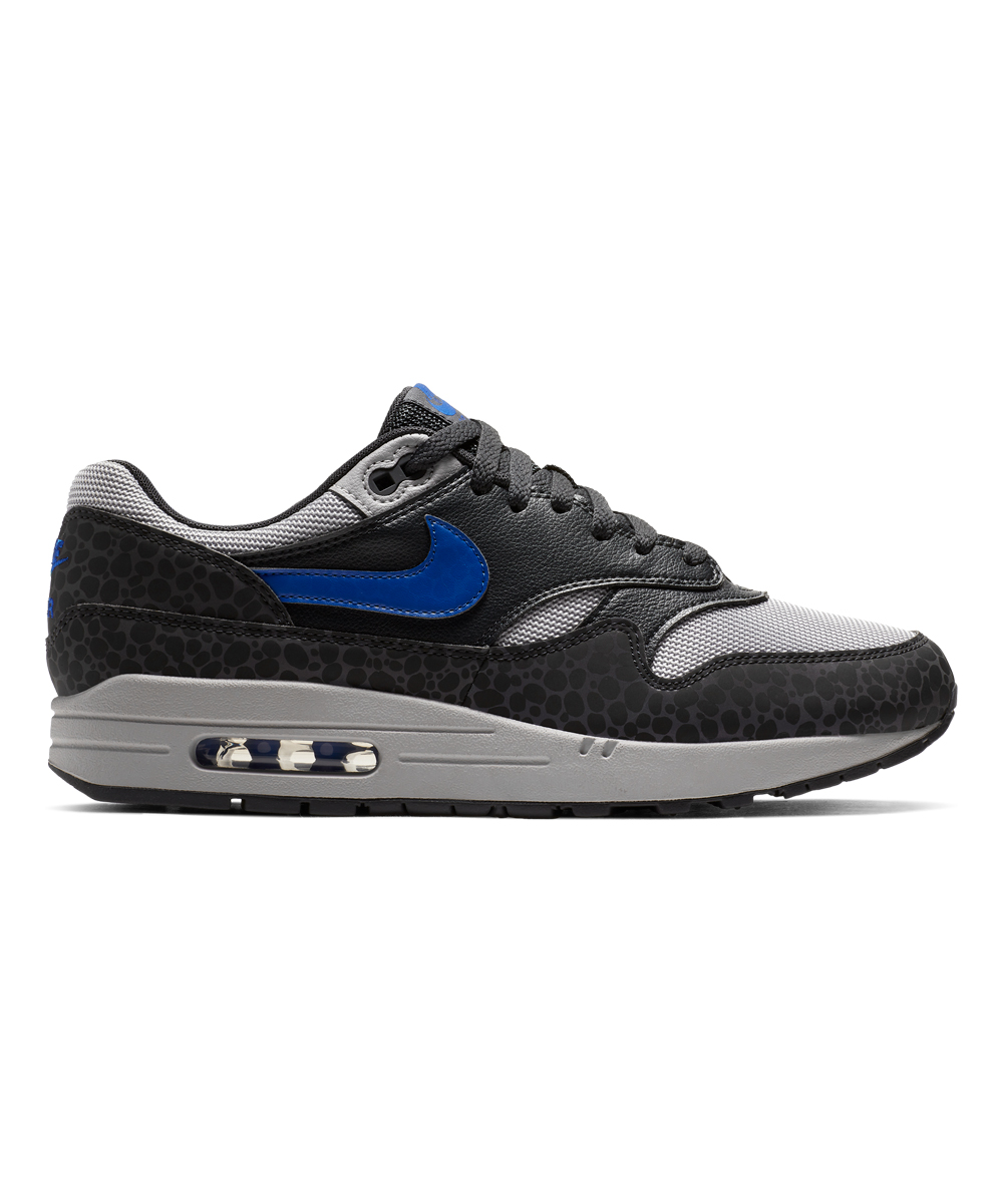 Nike Men's Sneakers Off - Off Noir & Atmosphere Gray Air Max 1 SE Reflective Leather Sneaker - Men