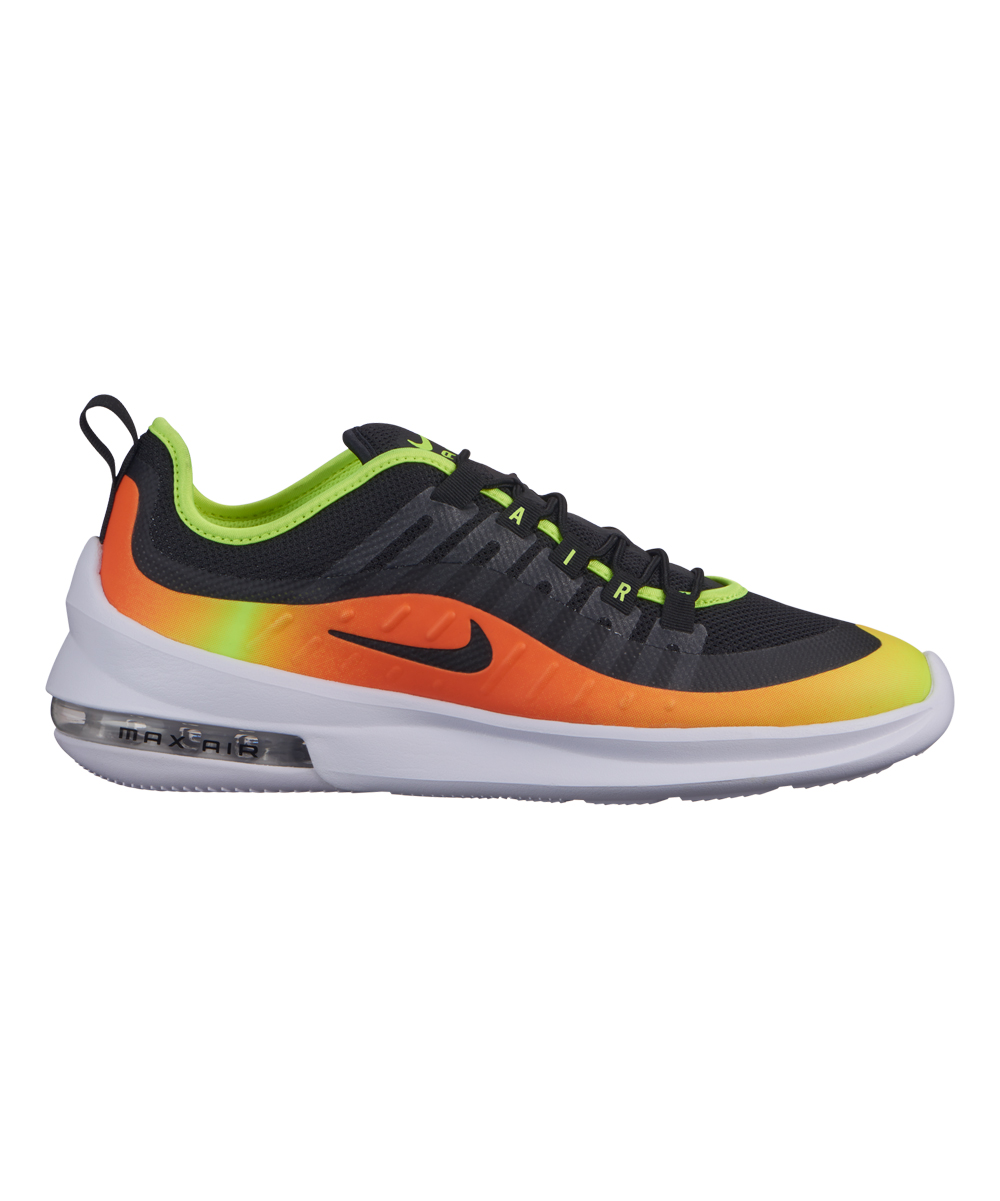 Nike Men's Running Shoes Black/Black - Black & Total Orange Air Max Axis Prem Running Shoe - Men