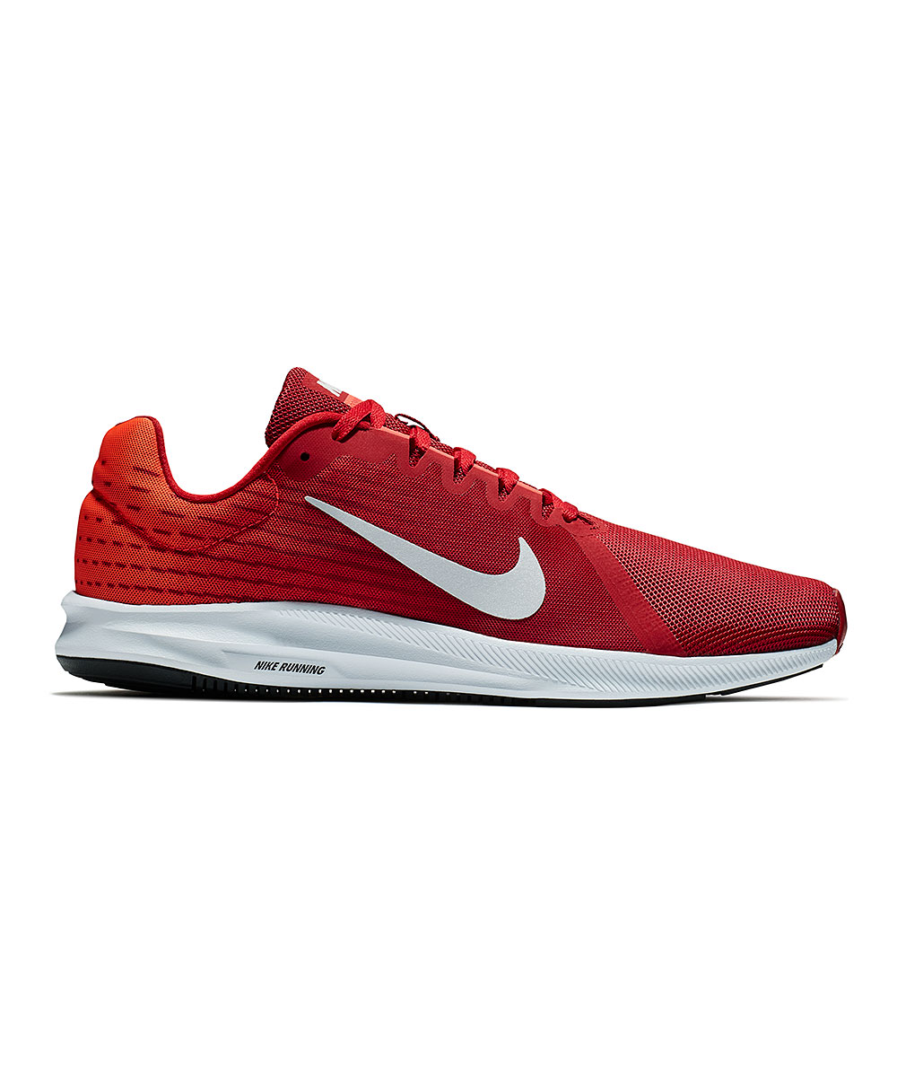 Nike Men's Sneakers Gym - Gym Red & Vast Gray Downshifter 8 Running Shoe - Men