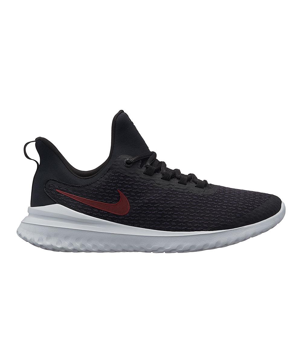 Nike Men's Sneakers Black/University - Black & Thunder Gray Renew Rival Running Shoe - Men
