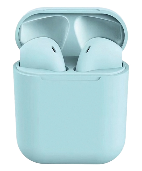 Essager  Wireless Headphones Blue - Blue Macarons TWS Bluetooth Earbud & Case