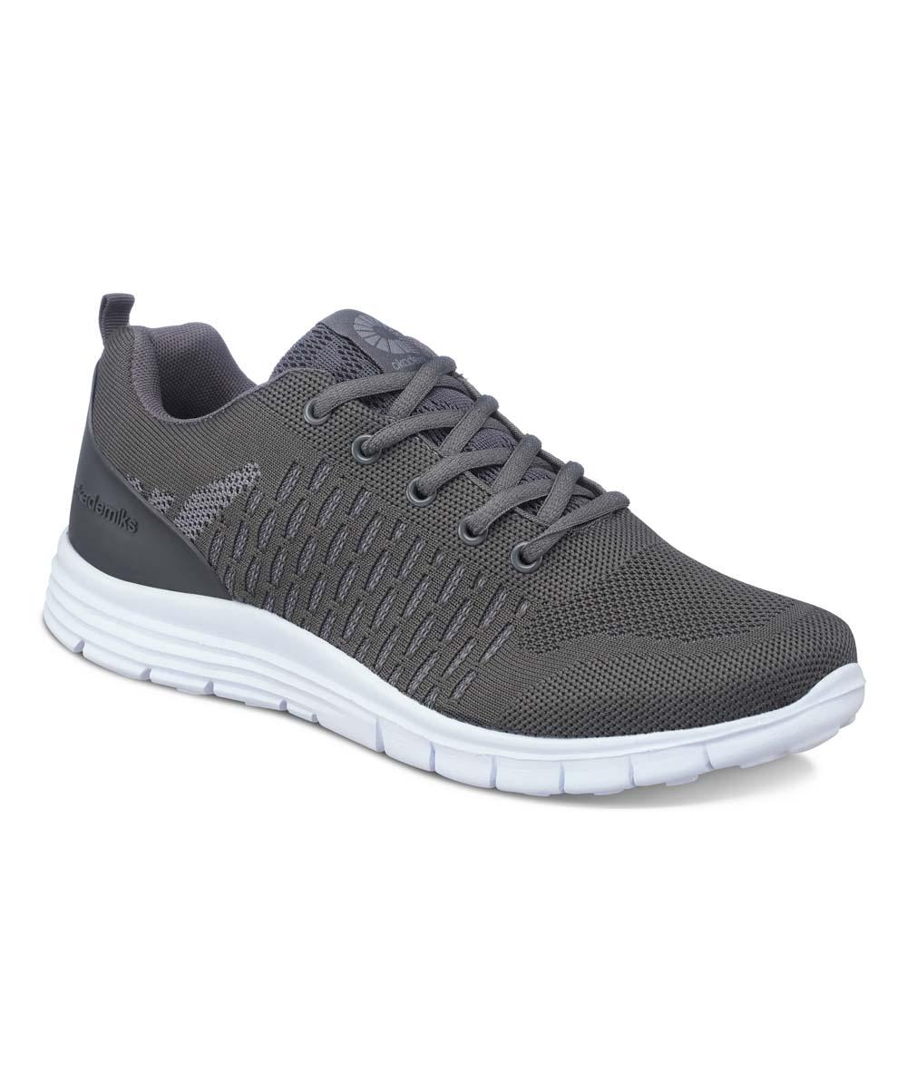 Akademiks Men's Sneakers GREY - Gray & White Low-Top Sneakers - Men