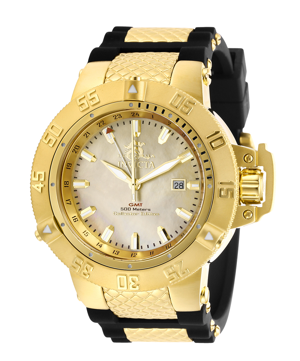 Invicta Subaqua Silver Dial Stainless Steel Automatic Men's Watch 0971