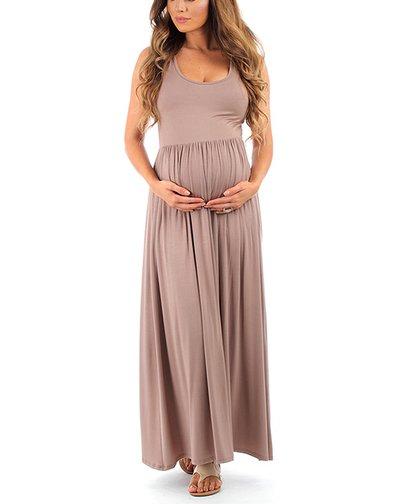 4b9c6d5187e97 Womens Java Java Ruched Maternity Maxi Dress - Alternate Image 1