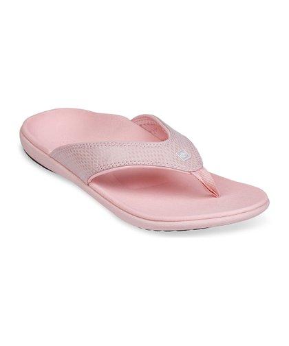 4c567148a6e2c0 Spenco Pink Snake-Embossed Sandal - Women
