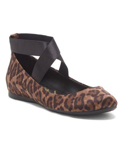e747cdd029a7 Natural & Black Leopard Mandayss Flat - Women. Jessica Simpson Collection
