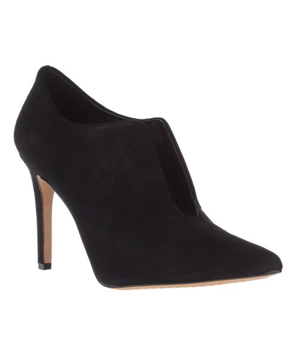 a8ff8fe21 Vince Camuto Black Curvy Metseya Suede Bootie - Women | Zulily