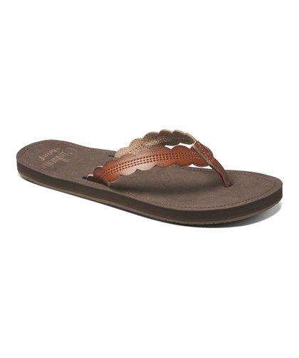 6ecb6c47f8 Reef Rust Celine Cushion Flip-Flop - Women | Zulily