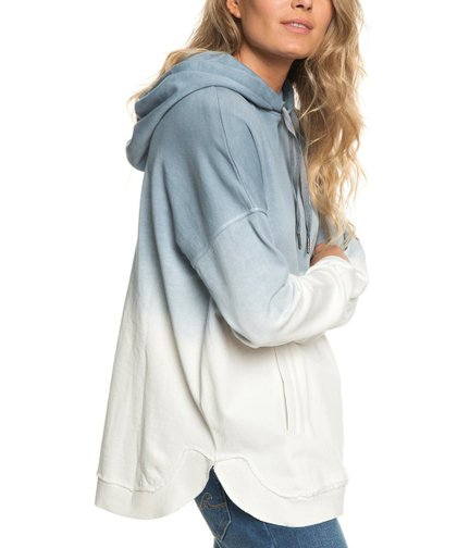 fa53fcdb3 Roxy Blue Ombré Time Has Come Poncho Hoodie - Women & Juniors | Zulily