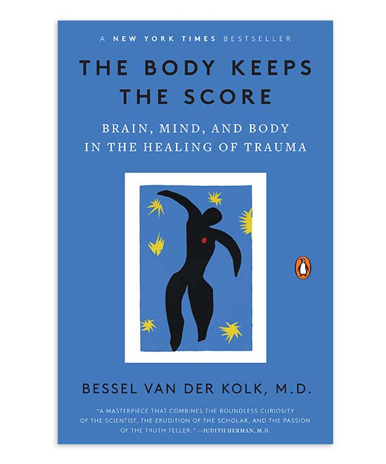 Penguin Random House  Educational Books  - The Body Keeps the Score Paperback The Body Keeps the Score Paperback. Trauma is a fact of life. Veterans and their families deal with the painful aftermath of combat; one in five Americans has been molested; one in four grew up with alcoholics; and one in three couples have engaged in physical violence. Such experiences inevitably leave traces on minds, emotions, and even on biology. Sadly, trauma sufferers frequently pass on their stress to their partners and children as well. Renowned trauma expert Bessel van der Kolk has spent over three decades working with survivors. In The Body Keeps the Score, he transforms our understanding of traumatic stress, revealing how it literally rearranges the brain's wiringspecifically areas dedicated to pleasure, engagement, control, and trust. He shows how these areas can be reactivated through innovative treatments including neurofeedback, mindfulness techniques, play, yoga, and other therapies. Based on Dr. van der Kolk's own research and that of other leading specialists, The Body Keeps the Score offers proven alternatives to drugs and talk therapyand a way to reclaim lives. 5.45'' W x 8.36'' H x 1.1'' DWritten by Bessel Van Der KolkPublisher: Random House464 pages