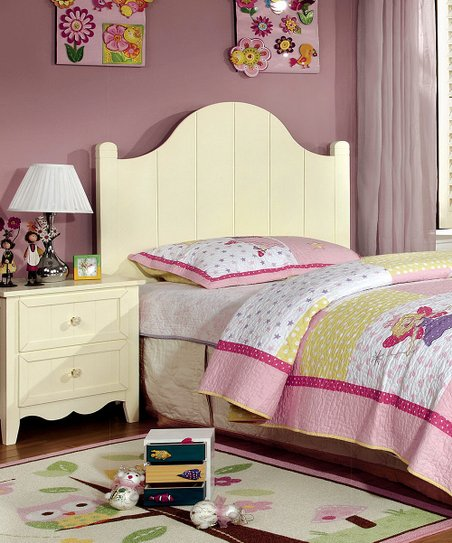 Serendipity Cream Cottage Style Four-Piece Bedroom Set | Zulily