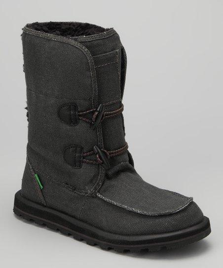 Sanuk Black Flurry Boot - Women  ec8a8e170d15