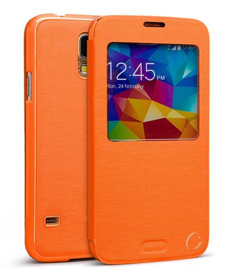 quality design 05f27 01c01 Cellairis Orange Docket Case for Samsung Galaxy S5