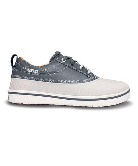 White AllCast Duck Golf Shoe - Men