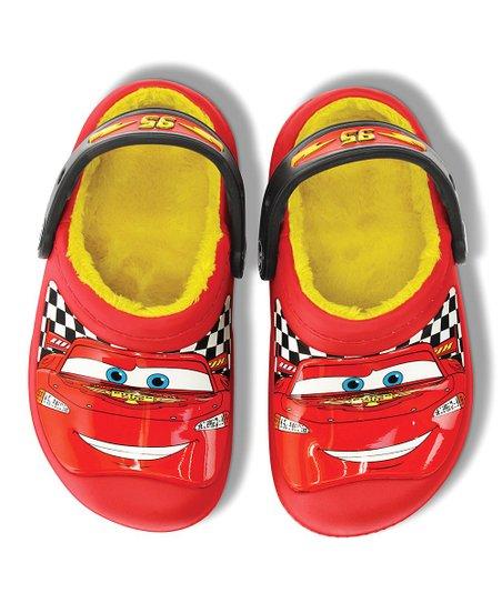 8629d6f4bbce3 Cars Lightning McQueen Red Creative Crocs Lined Clog - Boys