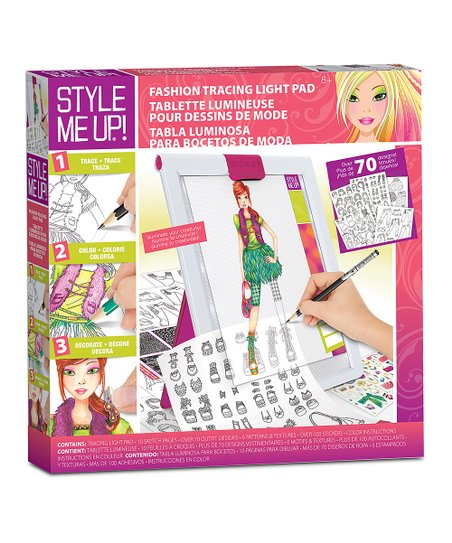 Style Me Up Fashion Tracing Table Set Best Price And Reviews Zulily