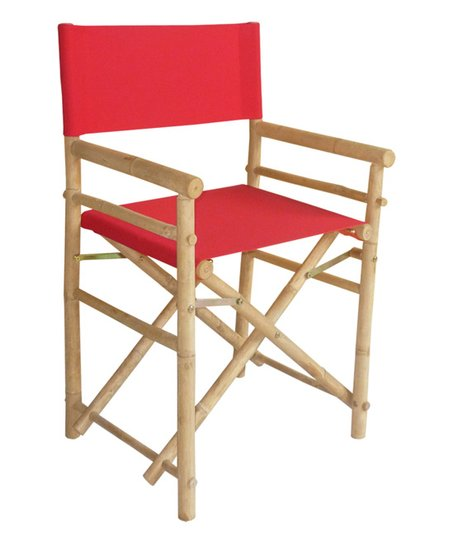 Love This Product Red Bamboo Director Chair Set Of Two