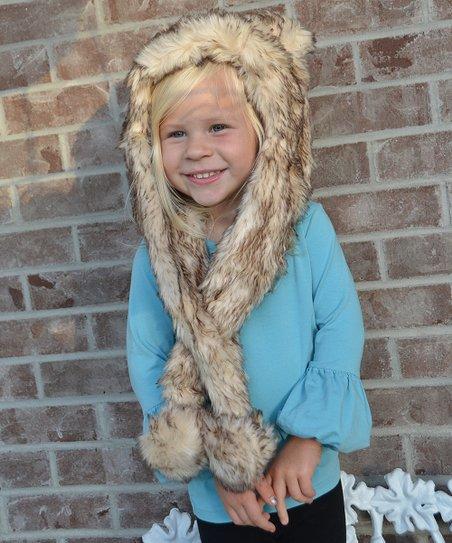 Lilly Patricia Crystal Fox Faux Fur Hat - Toddler   Girls  ec9700f61