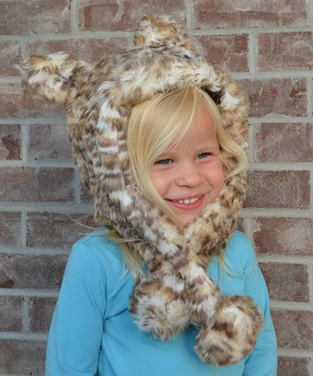 694200fa Lilly Patricia Snow Leopard Faux Fur Hat - Toddler & Girls | Zulily