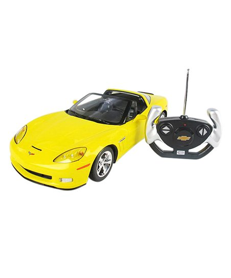 A to Z Toys Yellow Chevrolet Remote Control Car