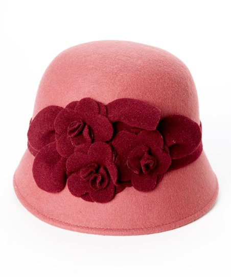8fbf487111e Betmar Dusty Rose Claudia Wool Hat