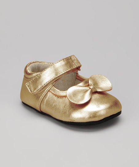 See Kai Run Gold Smaller Chao-Qun Mary Jane  6cb7cd7bce