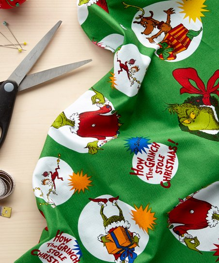 How the Grinch Stole Christmas Decoration Fabric