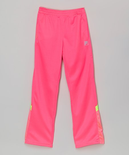 6f47df72c155d love this product Pink Sizzle Track Pants - Girls