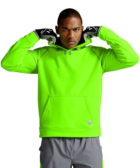 sports shoes 239d1 7d18b Under Armour® Hyper Green NFL Combine Infrared Hoodie