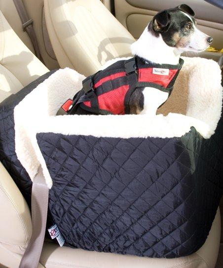 Snoozer Pet Products Black Lookout Pet Car Seat