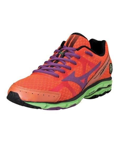 online store 21ea5 59183 Mizuno Celosia & Purple Passion Wave Rider 17 Running Shoe ...