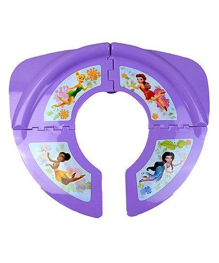 Ginsey Purple Fairies Folding Travel Potty Seat