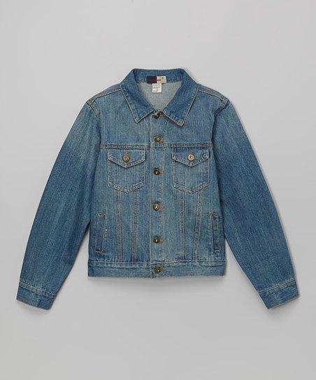 679364ccdb5c Daniel L Light Blue Denim Jacket - Boys