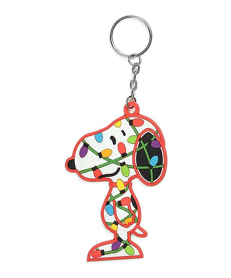 Department 56 Christmas Lights Snoopy Key Chain  47e2c1783