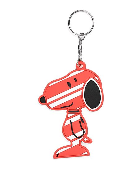 Department 56 Snoopy Candy Cane Key Chain  f613fe721
