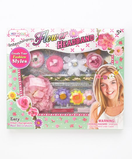 Hot Focus Flower Headband Kit Zulily