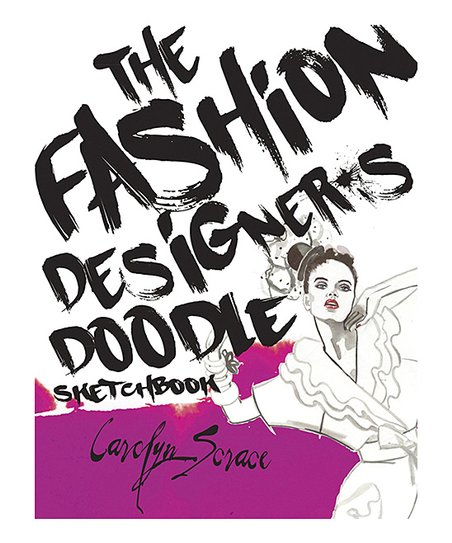 Sterling The Fashion Designers Doodle Sketchbook Best Price And Reviews Zulily