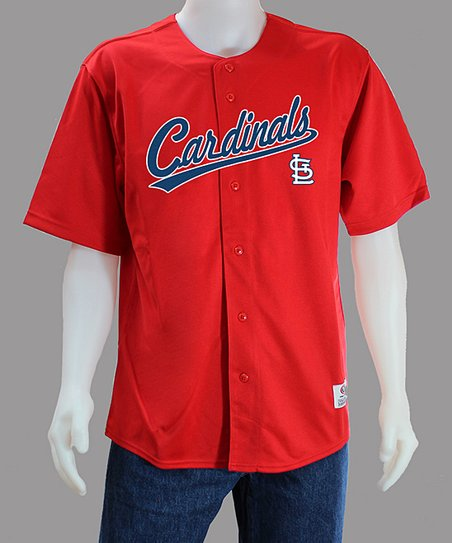 Stitches Athletic Gear Red St Louis Cardinals Jersey Men Zulily