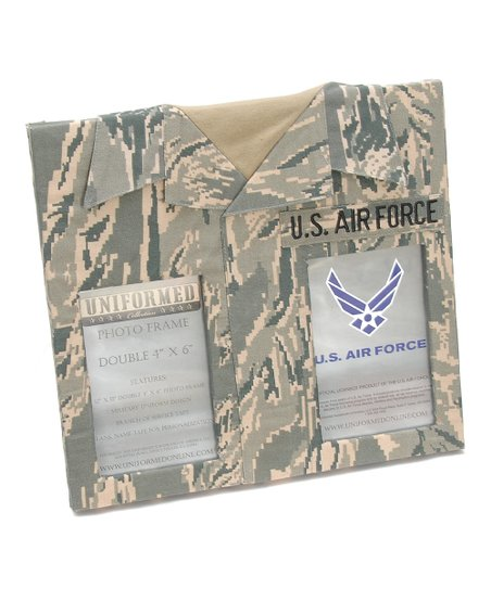 Uniformed Scrapbooks Us Air Force Double Photo Frame Zulily