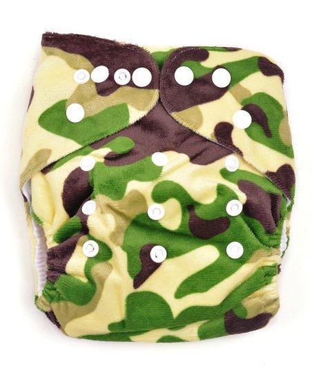 e595c1debf3 MG Baby Green Camo Cutie Pocket Diaper - Newborn
