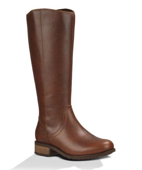 e2ff364e1ef UGG® Dark Chestnut Seldon Leather Boot - Women