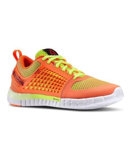 hot sale online d0adf 561b7 love this product Solar Orange   Solar Yellow ZQuick Electrify Running Shoe