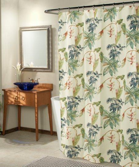 Floral Cascade Shower Curtain