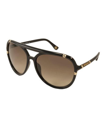 c8c1cba92e43 Michael Kors Black & Brown Jemma Sunglasses | Zulily