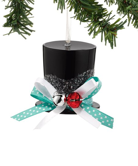 Christmas Top Hat Ornaments.1956 Christmas Top Hat Ornament Zulily