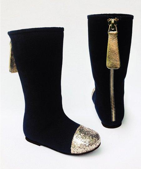 Joyfolie Black Chloe Boot \u0026 Hair Clip
